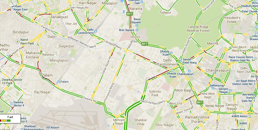 google-maps-traffic-layer